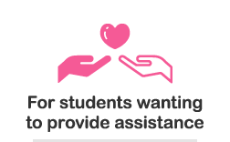 For students wanting to provide assistance